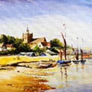 Sailing At Maldon Poster