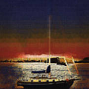 Sailing Into Twilight Poster