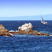 Sailing Monterey Bay Poster