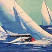Sailing Regatta Poster