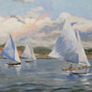 Sailing Sunday Poster