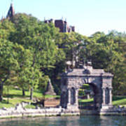 Sailing The Thousand Islands Canada Poster