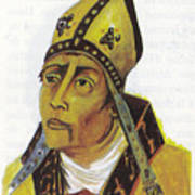 Saint Augustin Hippone Poster