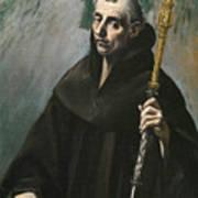Saint Benedict Poster