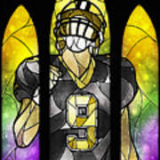 Saint Brees Poster