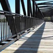 Saint Charles Walking Bridge Poster