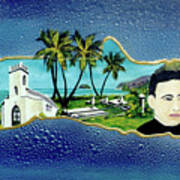 Saint Damien And Molokai #257 Poster