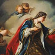 Saint Elisabeth Of Hungary Praying Poster