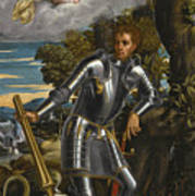 Saint George And The Dragon Poster