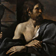 Saint John The Baptist In Prison Visited By Salome Poster