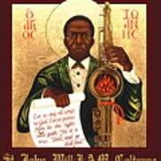 Saint John The Divine Sound Baptist Poster