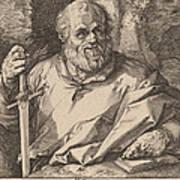 Saint Matthias Poster
