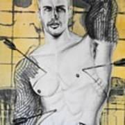 Saint Sebastian Poster by Carmine Santaniello