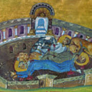 Saint Silvanus Of Emesa Poster
