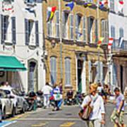 Saint Tropez Moment Poster