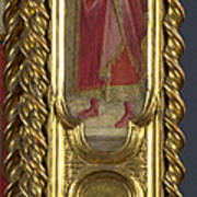 Saints Nicholas Damian And Margaret   Right Pilaster Poster