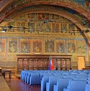 Sala Dei Notari 13th Century Poster
