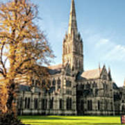 Salisbury Cathedral Poster