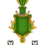 Salkeld Family Crest Poster