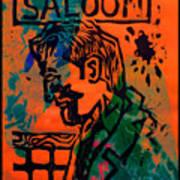 Saloon Poster by Adam Kissel
