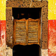 Saloon Door 1 Poster by Mexicolors Art Photography