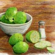 Salt And Lime Poster