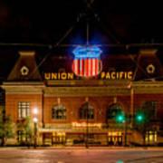 Salt Lake City Union Pacific Depot Poster