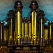 Salt Lake Tabernacle Organ Poster
