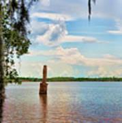 Salt Mine Disactor Monument Jefferson Island Louisiana  Poster