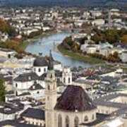 Salzburg Poster by Andre Goncalves