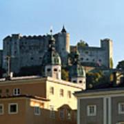 Salzburg Austria 3 Poster