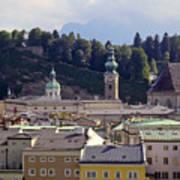 Salzburg City View Three Poster