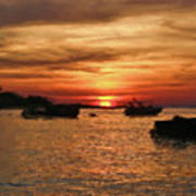 Samed Island Sunrise Poster