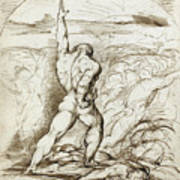 Samson Slaying The Philistines With The Jawbone Of An Ass Poster
