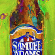 Samuel Adams Boston Ale Poster