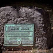 12- Samuel Adams Tombstone In Granary Burying Ground Eckfoto Boston Freedom Trail Poster