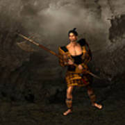 Samural Warrior Poster