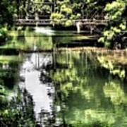 San Antonio River Scenic Poster