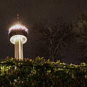 San Antonio Tower Of Americas Poster