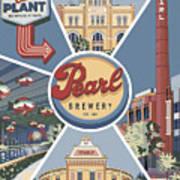 San Antonio's Pearl Poster