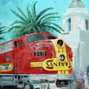 San Diegan On Liberty Poster