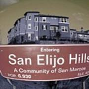 San Elijo Hills Poster
