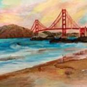 San Francisc Bridge Poster