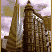 San Francisco Architecure Poster Poster