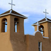 San Francisco De Asis Mission Bell Towers Poster