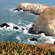 Marin Headlands Bunker Poster