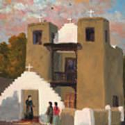 San Geronimo De Taos Spanish Mission Poster