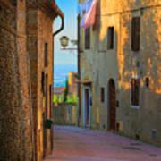 San Gimignano Alley Poster