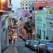 San Juan Evening Glow Poster