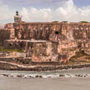 San Juan Puerto Rico Fort  Poster